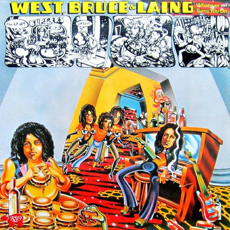 Joe Patagno - West-Bruce-Laing - Whatever Turn You On