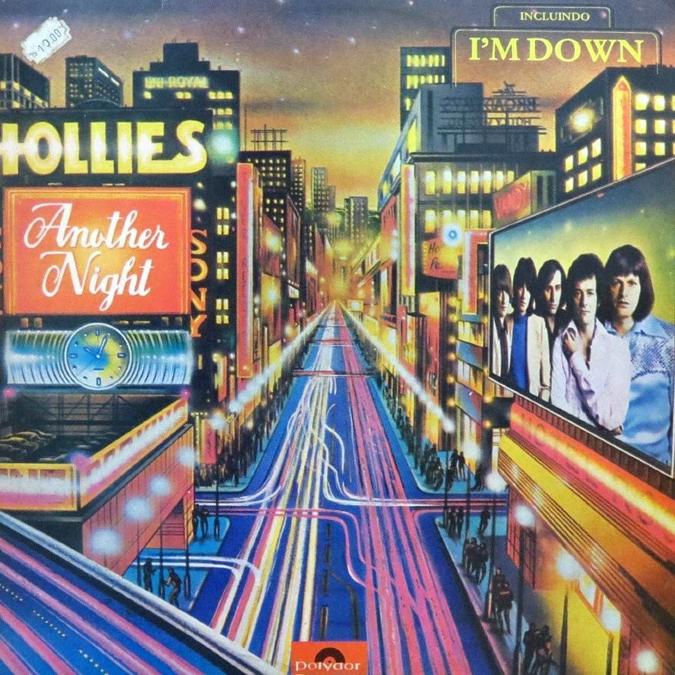 Joe Patagno - The Hollies Another Night